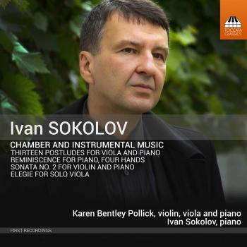 Cover Ivan Sokolov: Chamber Works