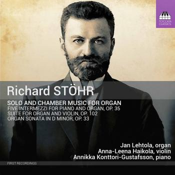 Cover Stöhr: Solo & Chamber Works for Organ