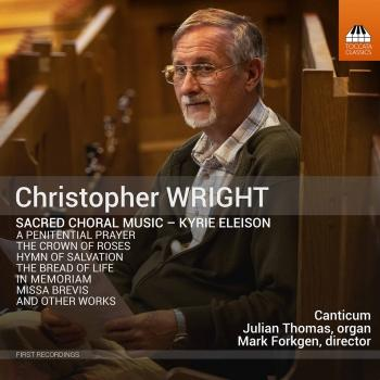 Cover Christopher Wright: Sacred Choral Music