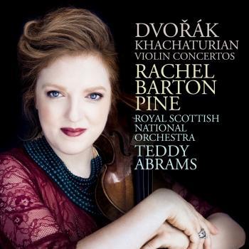 Cover Dvořák; Khachaturian: Violin Concertos