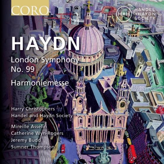 Cover Haydn Symphony No. 99 & Harmoniemesse