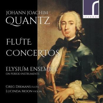 Cover Johann Joachim Quantz: Flute Concertos