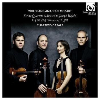 Cover Mozart: String Quartets (K428, 465 & 387) dedicated to Joseph Haydn