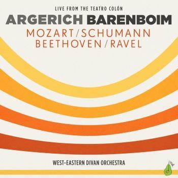 Cover Argerich & Barenboim: Mozart / Schumann / Beethoven / Ravel