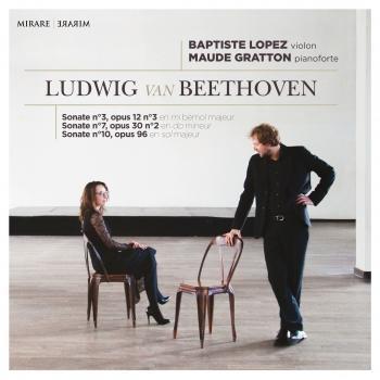 Cover Ludwig van Beethoven: Sonatas No. 3, No. 7 & No. 10