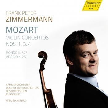 Cover Mozart: Violin Concertos Nos. 1, 3, 4, Rondo K. 373, Adagio K. 261
