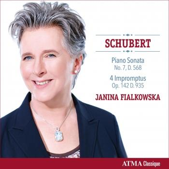 Cover Schubert: Piano Sonata No. 7 in E-Flat Major & 4 Impromptus