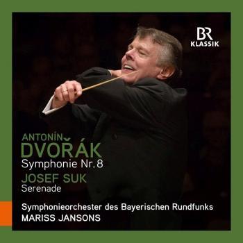 Cover Dvořák: Symphony No. 8 in G Major, Op. 88 - Suk: Serenade für Streicher, Op. 6