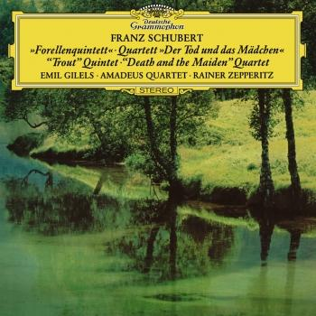 Cover Schubert: Piano Quintet 'The Trout' & String Quartet 'Death And The Maiden'