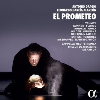 Cover Antonio Draghi & Leonardo García Alarcón: El Prometeo