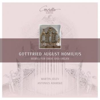 Cover Homilius - Works for Oboe and Organ