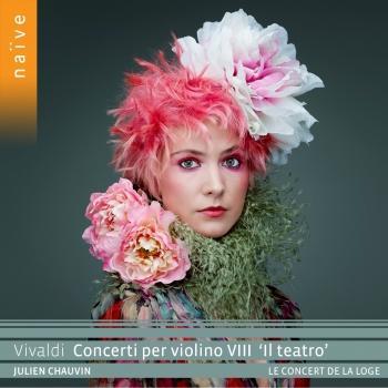 Cover VIVALDI Concerti per violino VIII 'Il teatro'