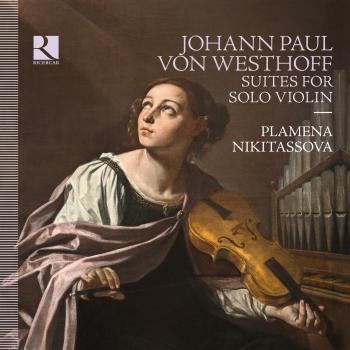 Cover Von Westhoff: Suites for Solo Violin