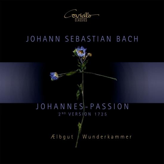 Cover Johann Sebastian Bach - Johannes-Passion (2nd Version. 1725)