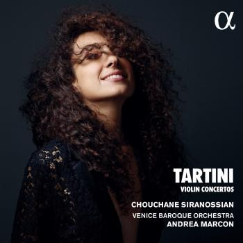 Cover Tartini: Violin Concertos