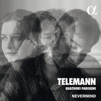 Cover Telemann: Quatuors parisiens