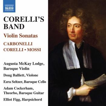 Cover Corelli's Band: Violin Sonatas