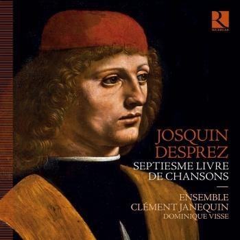 Cover Josquin Desprez: Septiesme livre de chansons