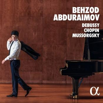 Cover Debussy, Chopin, Mussorgsky