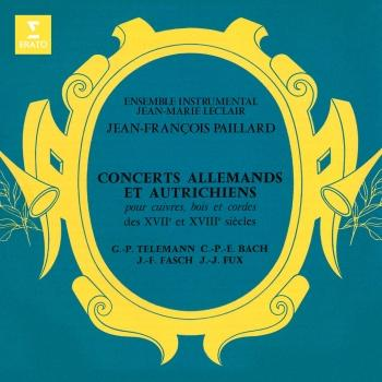 Cover Concerts allemands et autrichiens des XVIIe et XVIIIe siècles: Telemann, CPE Bach, Fasch & Fux