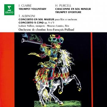 Cover Clarke: Trumpet Voluntary - Purcell: Chaconne en sol - Albinoni: Concertos, Op. 7 No. 4 & Op. 5 No. 5