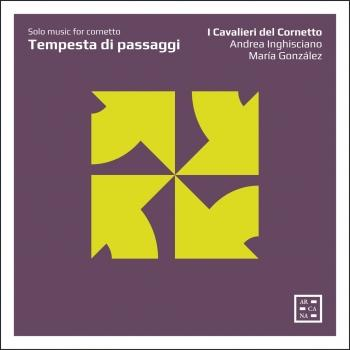 Cover Tempesta di passaggi: Solo Music for Cornetto