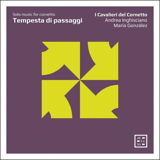 Cover Tempesta di passaggi: Solo Music for Cornetto
