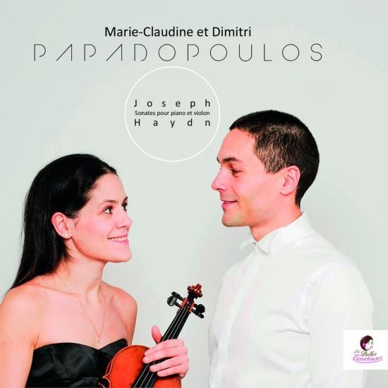 Cover Joseph Haydn: Sonates pour Piano et violon