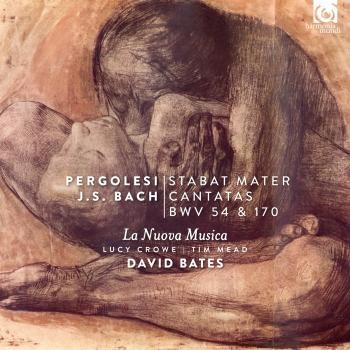 Cover Pergolesi: Stabat Mater - Bach: Cantatas BWV 54 & 170
