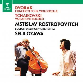 Cover Dvorák: Cello Concerto - Tchaikovsky: Variations on a Rococo theme (Remastered)