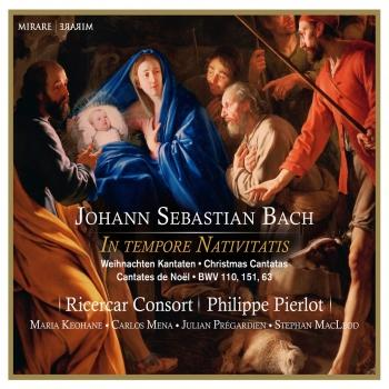 Cover JS Bach: In Tempore Nativitatis - Christmas Cantatas BWV 110, 151, 63