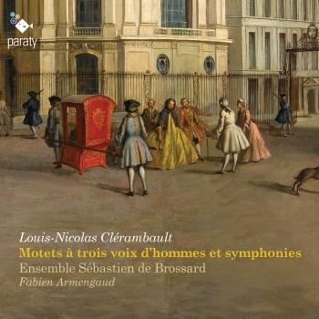 Cover Clérambault: Motets à trois voix d'hommes et symphonies