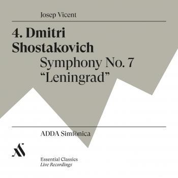 Cover Dmitri Shostakovich. Symphony No.7 'Leningrad'