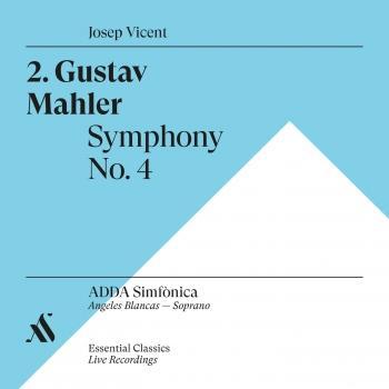 Cover Gustav Mahler. Symphony No. 4