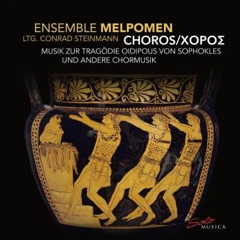 Cover CHOROS - Chorische Musik zur Tragödie Oidipous von Sophokles