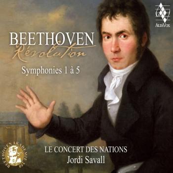 Cover Beethoven: Révolution, Symphonies 1 à 5