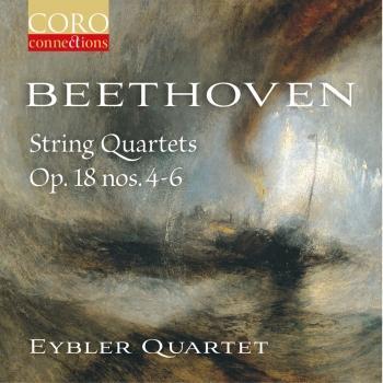 Cover Beethoven String Quartets Op. 18, Nos. 4-6
