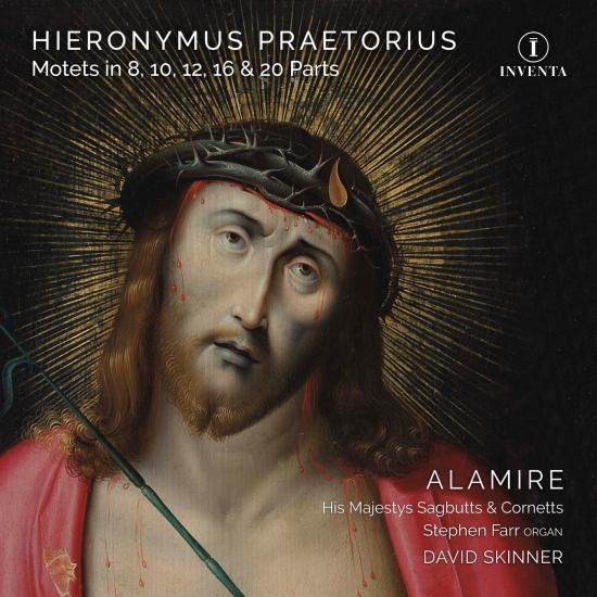 Cover Hieronymus Praetorius: Motets in 8, 10, 12, 16 & 20 Parts