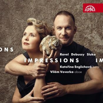 Cover Impressions / Ravel, Debussy, Sluka: Works for Oboe and Harp