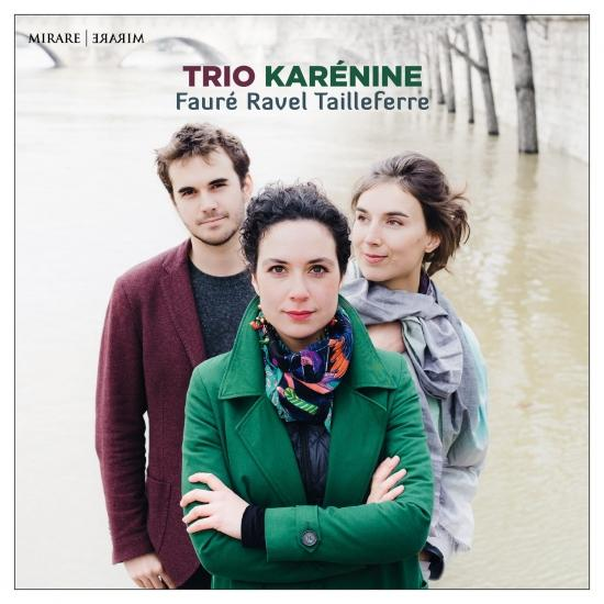 Cover Fauré, Ravel & Tailleferre