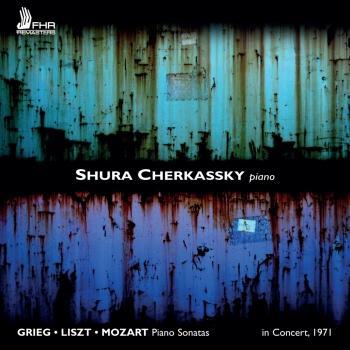 Cover Shura Cherkassky in Concert (Live)