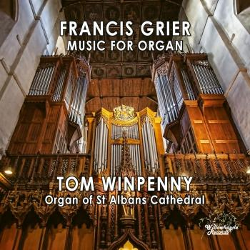 Cover Francis Grier: Music for Organ