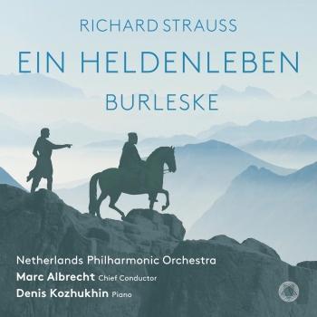 Cover R. Strauss: Ein Heldenleben & Burleske