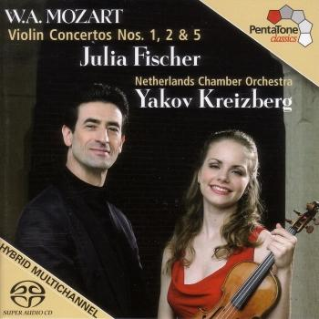 Cover Mozart: Violin Concertos Nos. 1, 2 and 5
