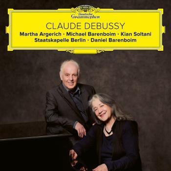 Cover Debussy: Fantaisie, Violin Sonata, Cello Sonata, La mer