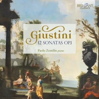 Cover Giustini: 12 Sonatas, Op. 1