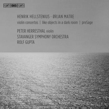 Cover Hellstenius & Matre: Violin Concertos