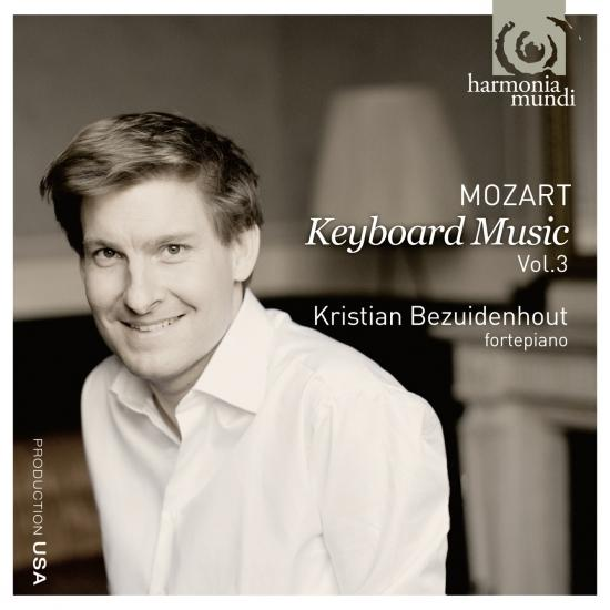 Cover Mozart: Keyboard Music Vol. 3