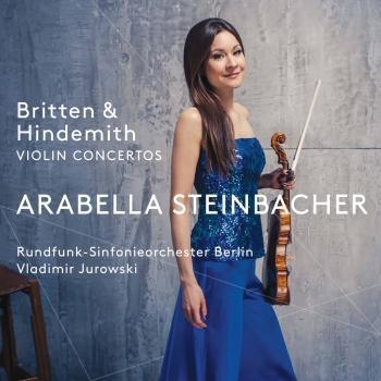 Cover Britten & Hindemith: Violin Concertos