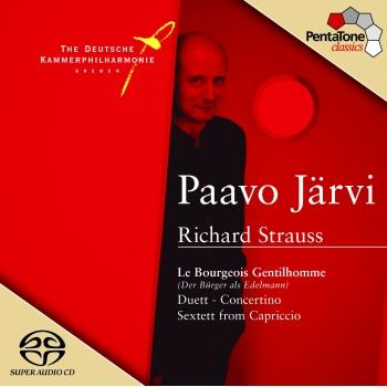 Cover Strauss, R.: Der Burger Als Edelmann / Duett-Concertino / Capriccio